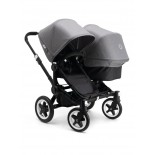 Bugaboo Donkey Duo Black/Grey Melange