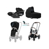 Cybex Trio 2020 Priam Rose Gold e Clod Z Sensor Safe
